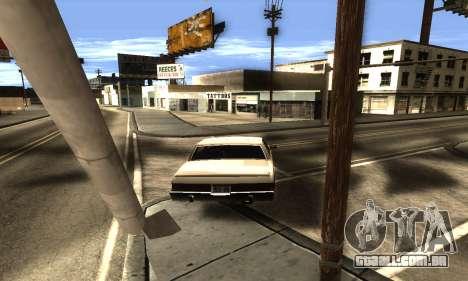 ENB Double Effect para GTA San Andreas sexta tela