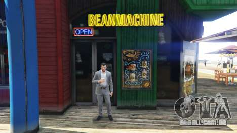 Uma loja de café para GTA 5