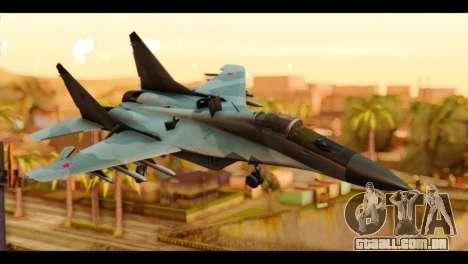 MIG-29 Fulcrum para GTA San Andreas