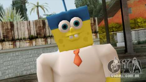 Spongebob as Mr.Invincibubble para GTA San Andreas terceira tela