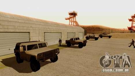 DLC 3.0 Militar atualização para GTA San Andreas