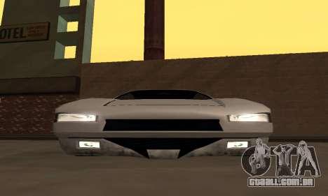 Infernus BanDit para GTA San Andreas vista direita