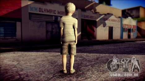 Dante Child Skin para GTA San Andreas segunda tela