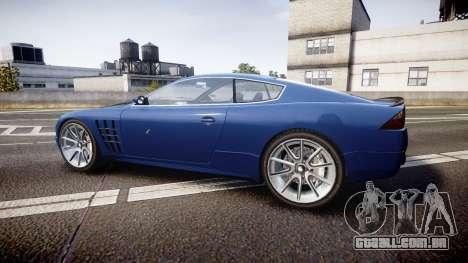 GTA V Ocelot F620 R para GTA 4 esquerda vista