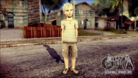 Dante Child Skin para GTA San Andreas