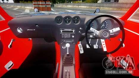 Nissan Fairlady Devil Z para GTA 4 vista de volta
