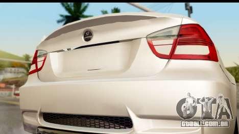 BMW M3 E90 Hamann para GTA San Andreas vista direita