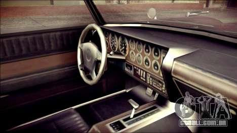 GTA 5 Dewbauchee JB 700 para GTA San Andreas vista direita