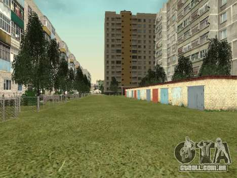 Prostokvashino para GTA Penal Rússia beta 2 para GTA San Andreas nono tela