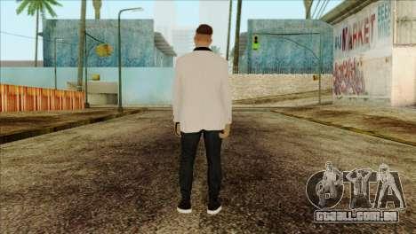 Skin 2 from GTA 5 para GTA San Andreas segunda tela