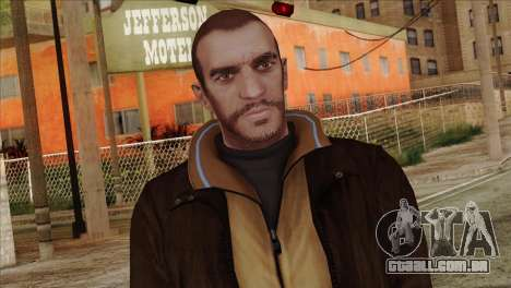 Niko from GTA 5 para GTA San Andreas terceira tela