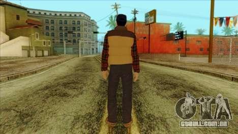 Big Rig Alex Shepherd Skin para GTA San Andreas segunda tela