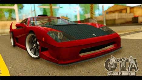 Turismo F40 para GTA San Andreas