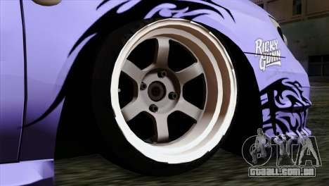 Subaru Impreza WRX STI 5pb Itasha para GTA San Andreas traseira esquerda vista