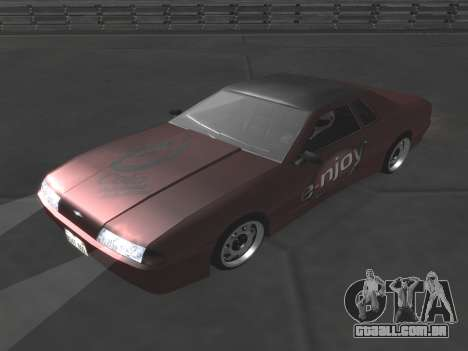 Elegy Paintjobs para vista lateral GTA San Andreas