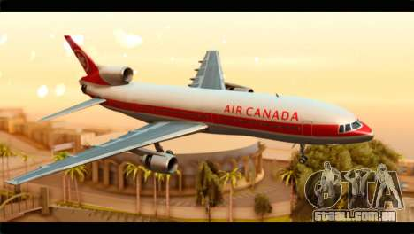 Lookheed L-1011 Air Canada para GTA San Andreas