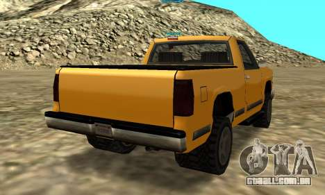 PS2 Yosemite para GTA San Andreas vista traseira