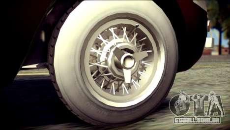 GTA 5 Dewbauchee JB 700 para GTA San Andreas traseira esquerda vista