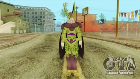 Dragon Ball Xenoverse Cell Perfect para GTA San Andreas