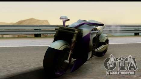 Krol Taurus Concept HD A.D.O.M v1.0 para GTA San Andreas traseira esquerda vista