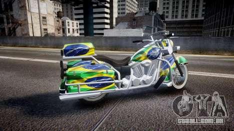 GTA V Western Motorcycle Company Sovereign BRA para GTA 4 esquerda vista