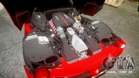 Ferrari LaFerrari 2013 HQ [EPM] PJ4 para GTA 4 vista superior
