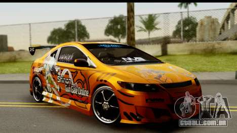 Honda Civic SI Juiced Tuned Shinon Itasha para GTA San Andreas