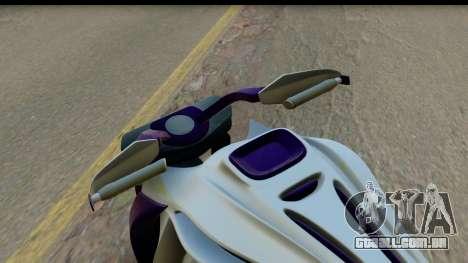 Krol Taurus Concept HD A.D.O.M v1.0 para GTA San Andreas vista traseira