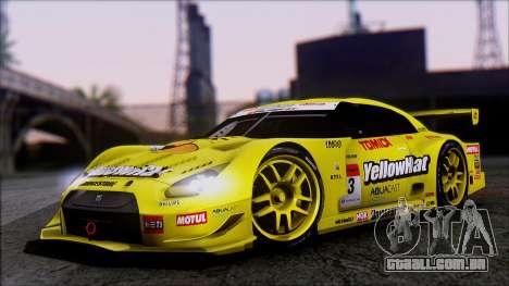 Nissan GTR R35 JGTC Yellowhat Tomica 2008 para GTA San Andreas