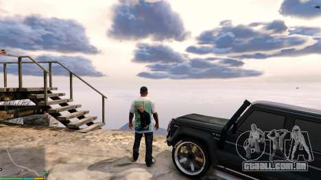 GTA 5 T-shirt para Franklin. - Fizruk terceiro screenshot