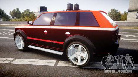 Vapid Huntley Sport RS para GTA 4 esquerda vista