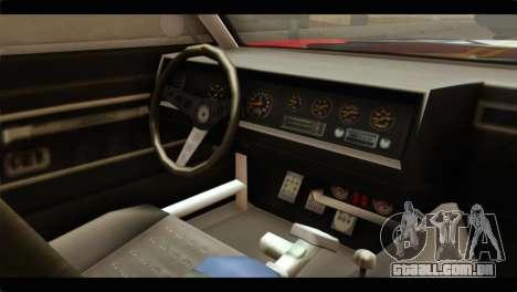 GTA 5 Declasse Sabre GT Turbo para GTA San Andreas vista direita