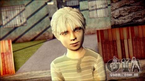 Dante Child Skin para GTA San Andreas terceira tela