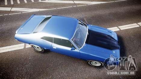 Ford Falcon XB GT351 Coupe 1973 para GTA 4 vista direita