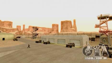 DLC 3.0 Militar atualização para GTA San Andreas oitavo tela