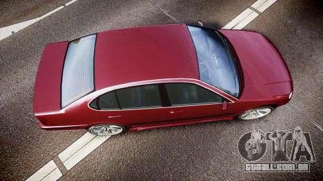 Emperor Lokus LS 350 Elegance para GTA 4 vista direita