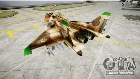 O MiG 1.44 IFM para GTA 4 traseira esquerda vista