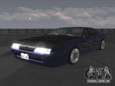 Elegy Paintjobs para GTA San Andreas traseira esquerda vista