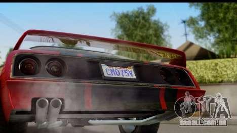 GTA 5 Imponte Phoenix para GTA San Andreas vista direita