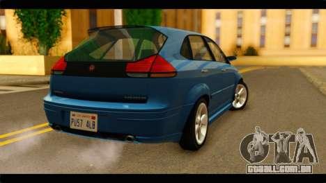 GTA 4 Habanero para GTA San Andreas esquerda vista
