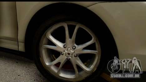 Porsche Cayenne S 2015 para GTA San Andreas vista traseira