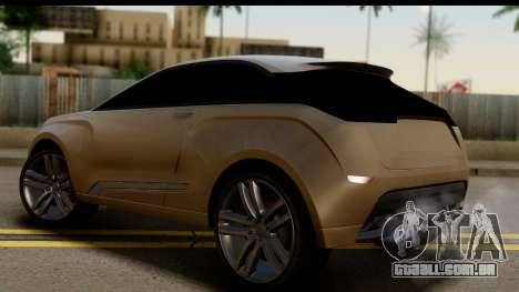 Lada XRay Concept v0.8 para GTA San Andreas esquerda vista