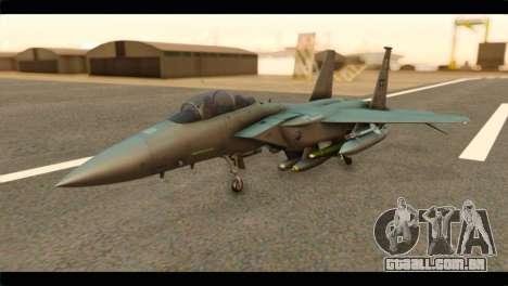 McDonnell Douglas F-15E Strike Eagle para GTA San Andreas