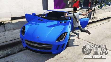 GTA 5 Mortal porta do carro segundo screenshot