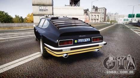 GTA V Lampadati Pigalle para GTA 4 traseira esquerda vista