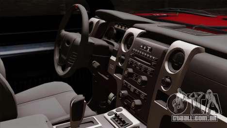 Bobcat Fx4 para GTA San Andreas vista direita