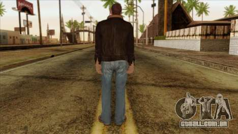 Niko from GTA 5 para GTA San Andreas segunda tela