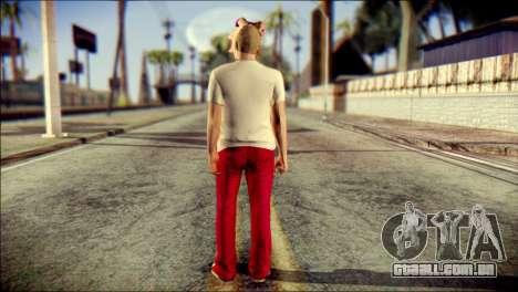 Skin Kawaiis GTA V Online v3 para GTA San Andreas segunda tela