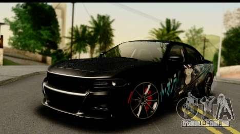 Dodge Charger RT 2015 Sword Art para GTA San Andreas