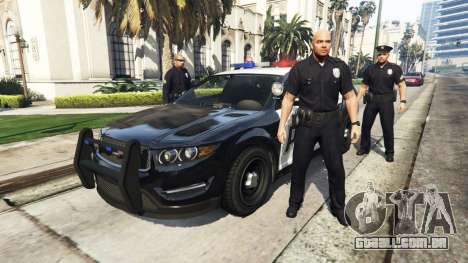 GTA 5 Police Mod 1.0b segundo screenshot